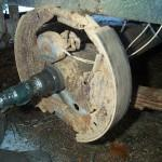 Mobile Home Axle Brakes Also Discovered Mine