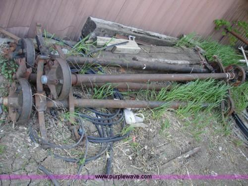 Mobile Home Axles Wheels Brake Non Axle