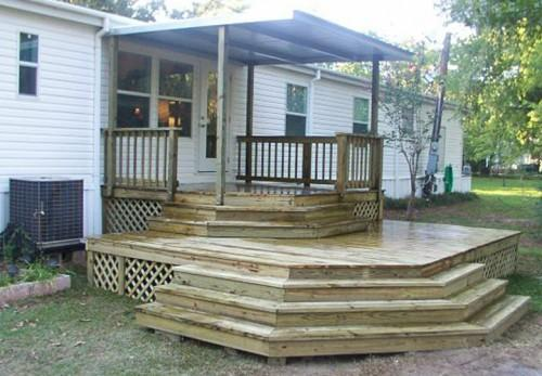 Mobile Home Back Porch Ideas