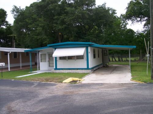 Mobile Home Carport