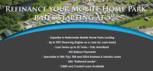 Mobile Home Commercial Financing