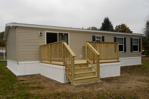 Mobile Home Deck Kits