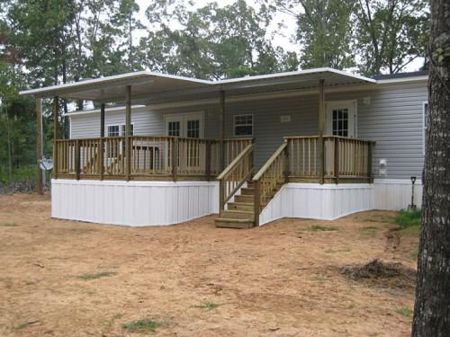 Mobile Home Deck
