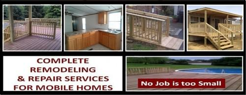 Mobile Home Decks Porches Kitchen Remodeling