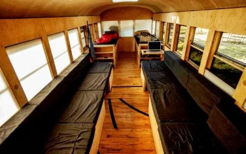 Mobile Home Gymnasium Living Small Spaces Have