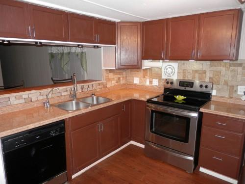 Mobile Home Kitchen Remodel Before