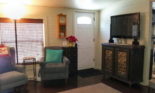 Mobile Home Living Room Remodel Finale