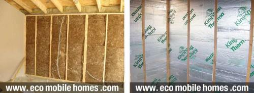 Mobile Home Logcabin Specification Insulation