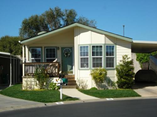 Mobile Home Park Capitola Has Newer Manufactured Homes