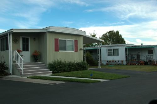 Mobile Home Parks Housing Solution Including Some Touch