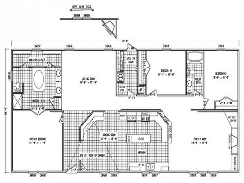 Mobile Home Plans Double Wide Trailers Homes
