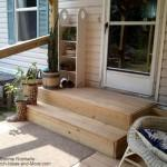 Mobile Home Porch Steps