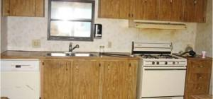 Mobile Home Remodel Before