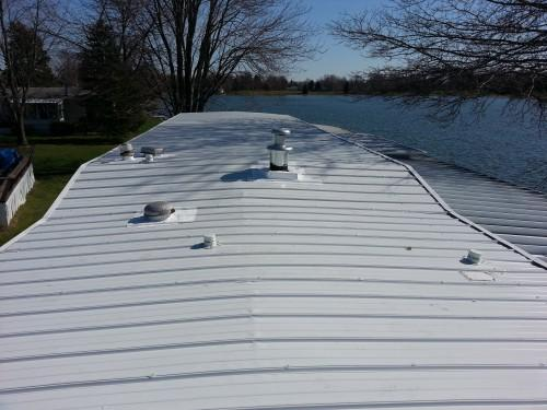 Mobile Home Roof Coating Acrylic Latex Elastomeric