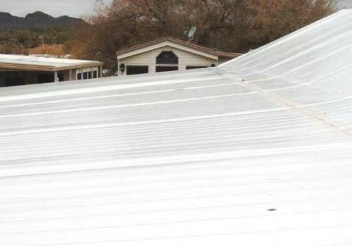 Mobile Home Roof Coating White