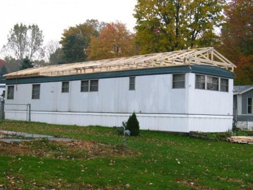 Mobile Home Roof Conneaut Lake Area Has Built
