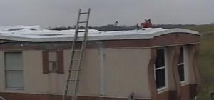 Mobile Home Roof Installation