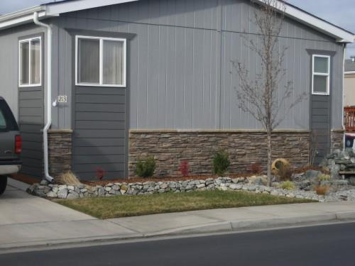 Mobile Home Skirting Stone Interiordesign