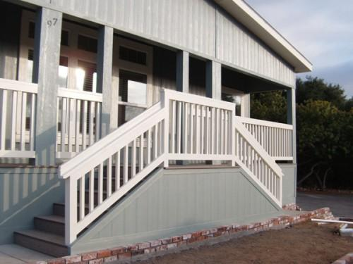 Mobile Home Stairs Railing