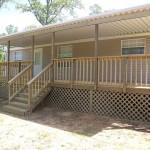 Mobile Home Steps Decks Serve Simple House Ornamentation