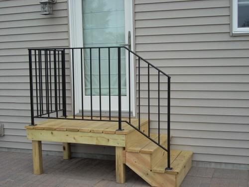 Mobile Home Steps Handrail