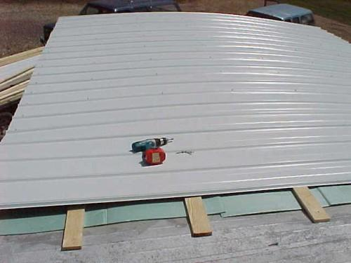Mobile Home Training Roof Retrofit