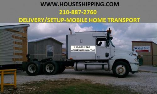 Mobile Home Transport Company Delivery Moving Services