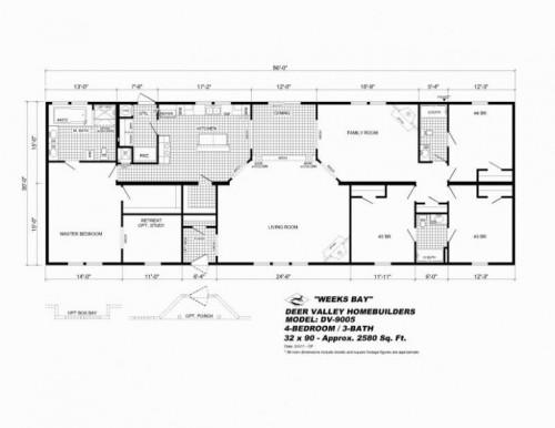 Mobile Homes Floor Plans