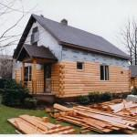 Mobile Homes Log Siding