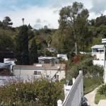 Mobile Homes Nestle Trees Shrubs Paradise Cove Lower