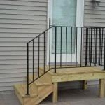 Mobile Stairs Metal Handrail