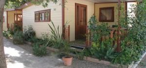 Mobilehome Camping Pisa Italy Chalet Mobile Home