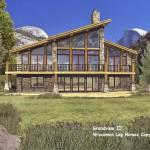 Modern Architecture Homes Plans Log Home Floor Wisconsin
