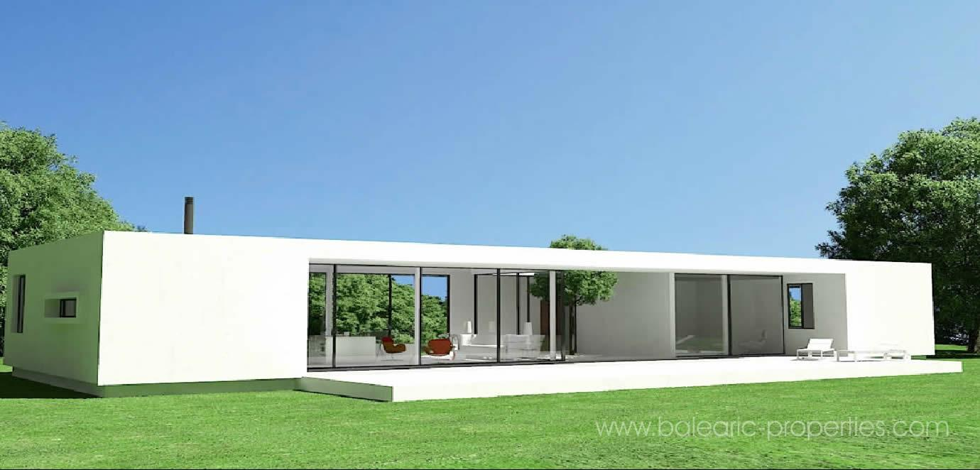 Modern Concrete Prefab Home Kits