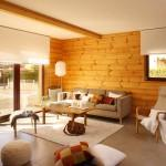 Modern Luxury Log Home Interiors Designs Inspiration