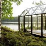 Modern Modular Architecture Small Greenhouse Style Home