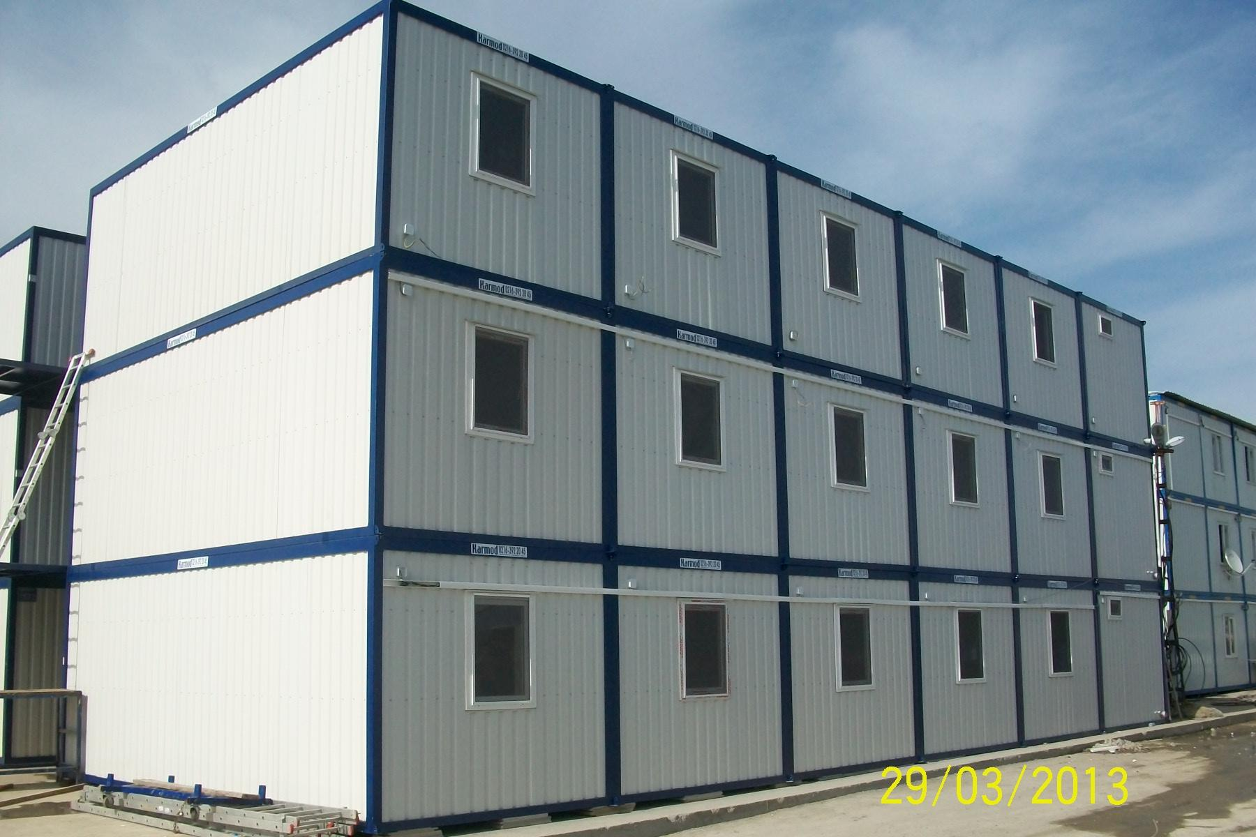 Modern Prefab Modular Buildings Commercial Construction
