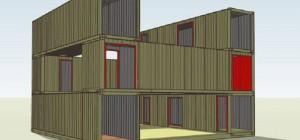 Modern Shipping Container Home Plans Gregory