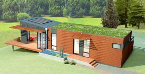 Modular Green Home Mklotus Display West
