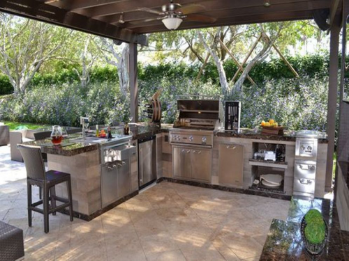 Modular Kitchen Outdoor Design