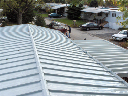 Modular Mobile Home Roof Over System