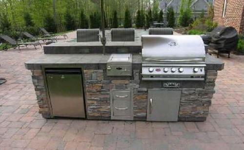 Modular Outdoor Kitchen Kits