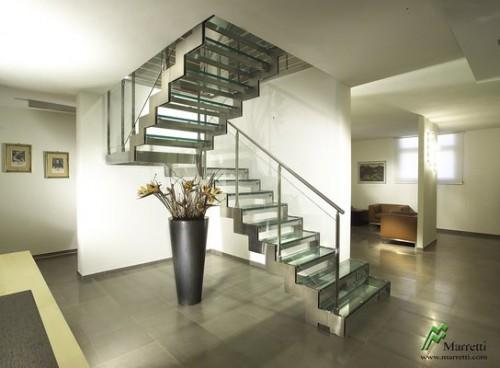 Modular Staircase Stainless Steel Glass Steps Yelp
