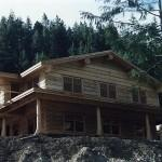 Montana Handcrafted Dovetail Log Home Caribou Creek Timber