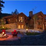 Montana Log Homes Fabulous Home Amazing Landscaping