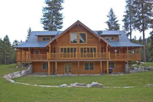 Montana Log Homes Sale