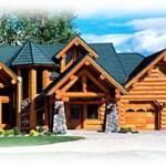 Montana Neville Log Homes Laurie Schende Lane Kitchen