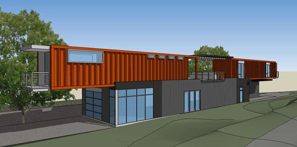 More Gelband Loveman Container House Architect