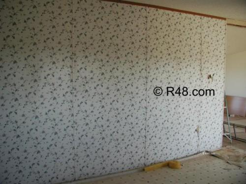 More Vinyl Covered Sheetrock Deal Cabinets Also