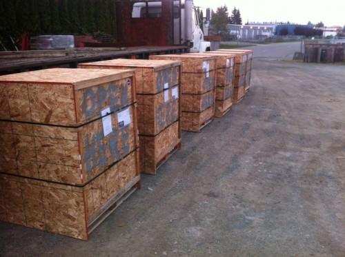 Most Homes Require Two Pallets Skirting Each Weighing Between